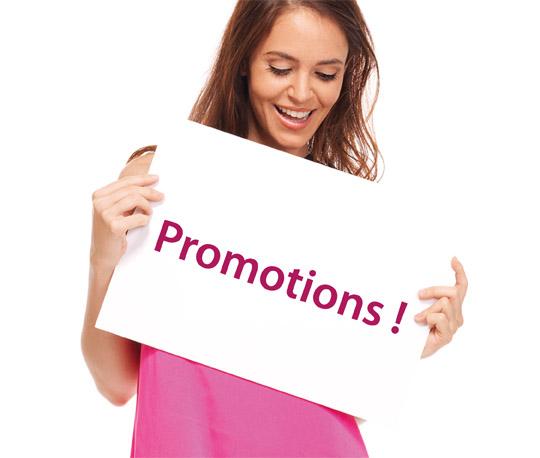 Les promotions des cosmétiques bio Clairjoie