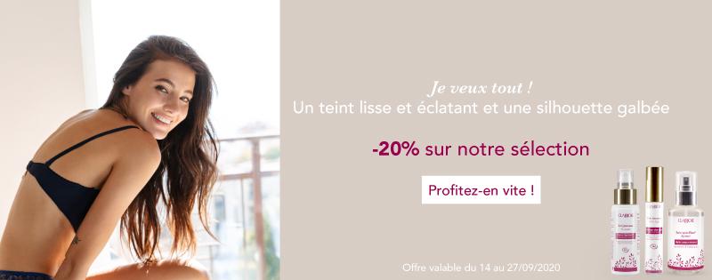 Promotion sur la selection teint lisse et éclatant et silhouette galbée