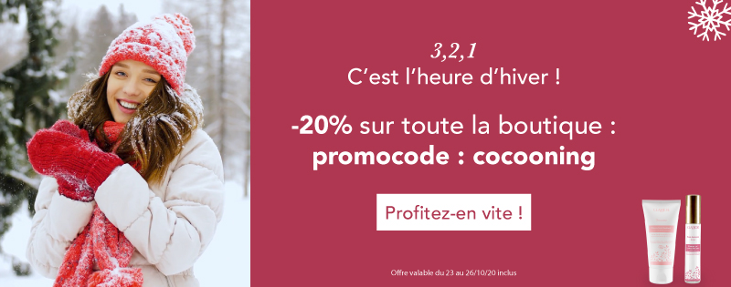 Promotions heure d'hiver