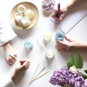 Elaboration et fabrication des cosmétiques bio Clairjoie