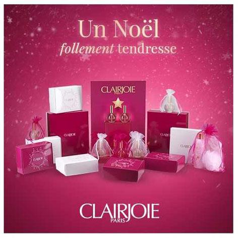 Coffrets cadeaux cosmétiques bio Clairjoie