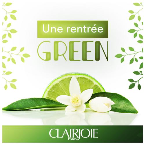 Blog Clairjoie cosmétiques bio, une rentrée green