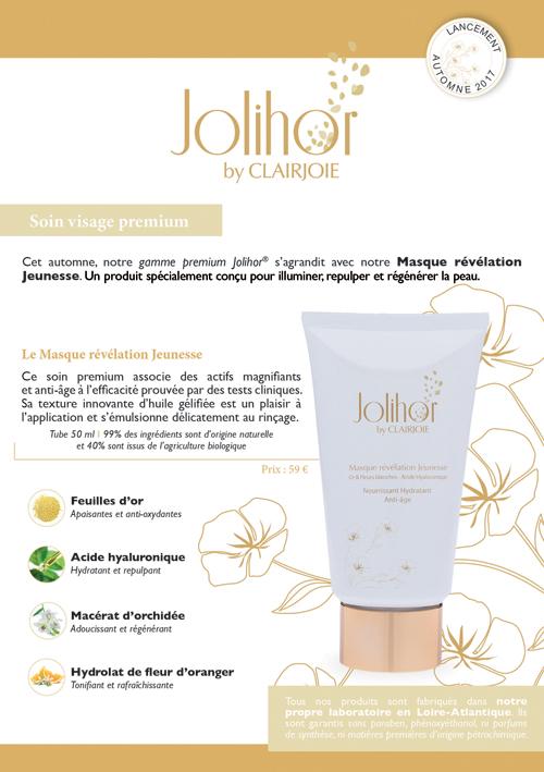 Masque fondant premium Jolihor